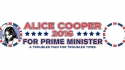 Alice Cooper to simultaneously stand for UK PM and US President