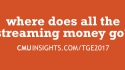 CMU@TGE Top Ten Questions: Where does all the streaming money go?
