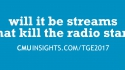 CMU@TGE Top Ten Questions: Will it be streams that kill the radio star?