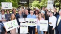 Musicians busk while tech bosses blog as Europe's big safe harbour vote looms