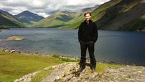 Andy Malt by a lake