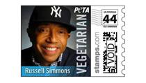 Russell Simmons' PETA Stamp