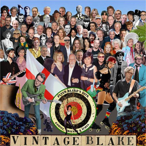 Peter Blake Sgt Pepper 2012