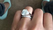 Cheryl Cole's wedding ring