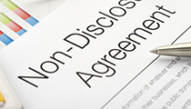NDA. Non disclosure agreement