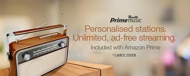 Amazon Prime Stations