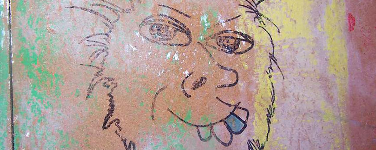 John Lydon self-portrait
