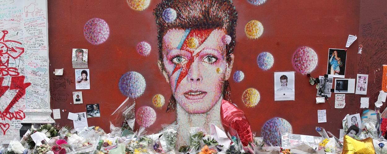 Lambeth Bowie mural