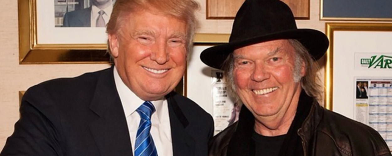 Donald Trump & Neil Young