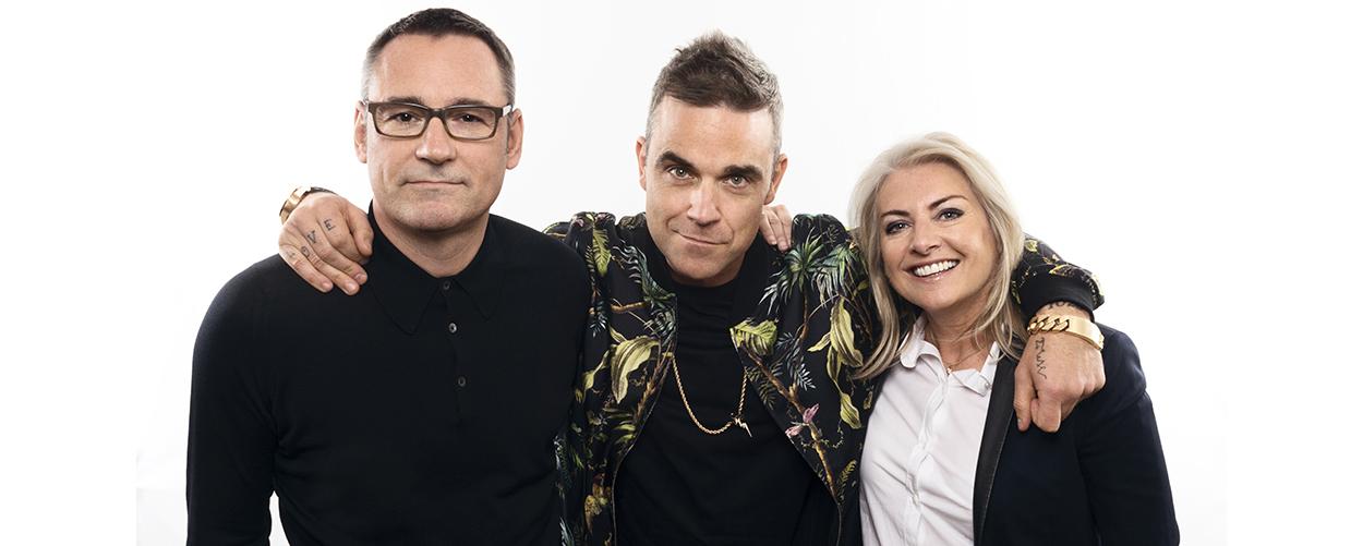 Jason Iley, Robbie Williams, Nicola Tuer