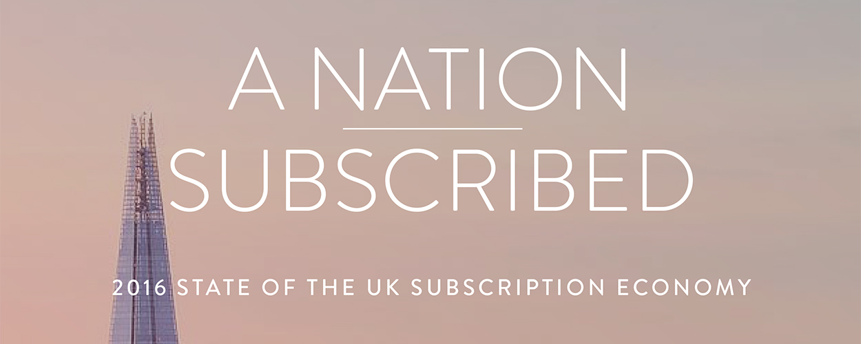 A Nation Subscribed