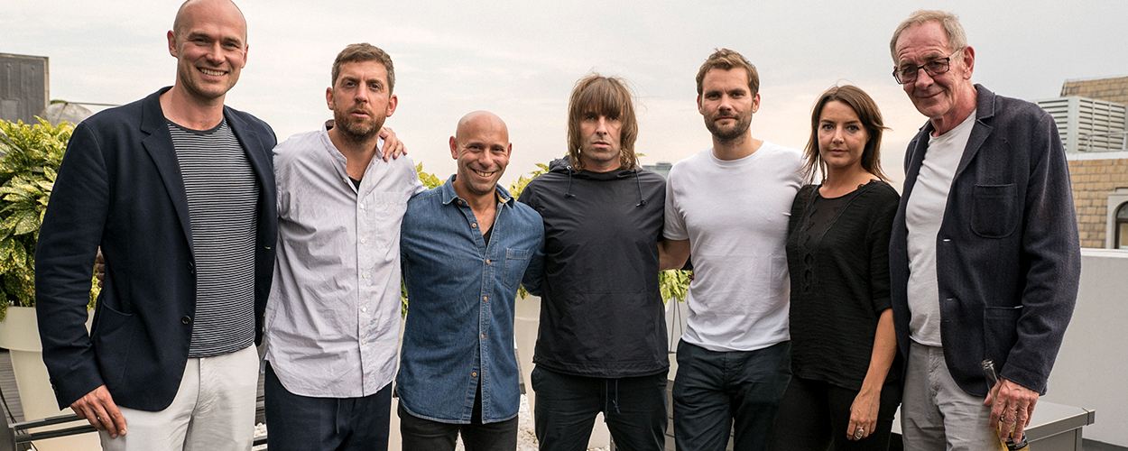 Sam Eldridge, Max Lousada, Nicky Stein, Liam Gallagher, Phil Christie, Debbie Gwyther, Roy Eldridge