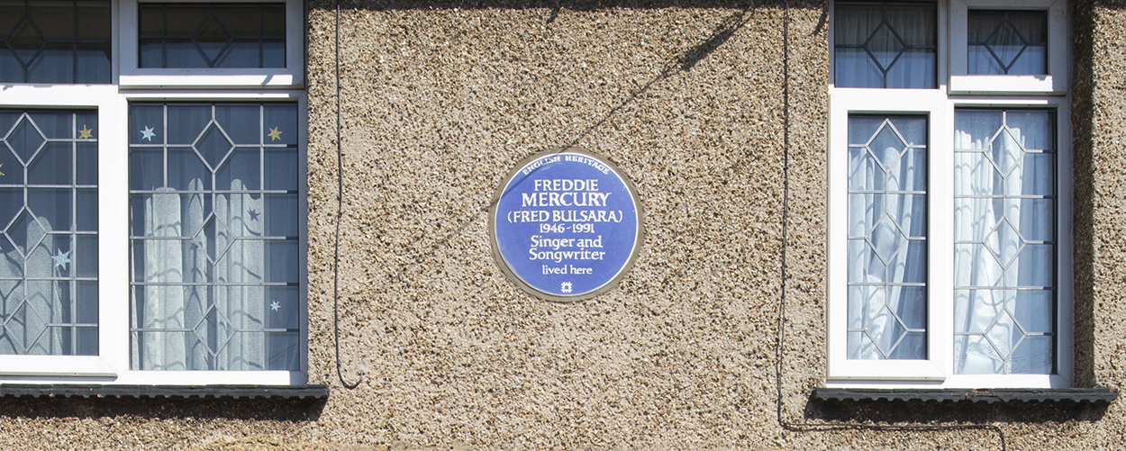 Freddie Mercury S Childhood Home Gets Blue Plaque