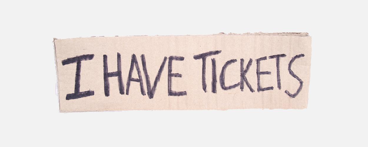 Ticket touts