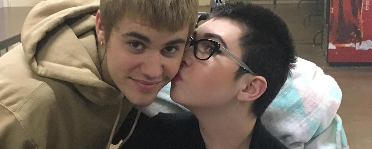 Jusin Bieber & Evie