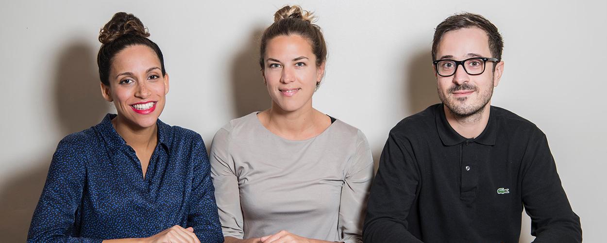 Natasha Mann, Olivia Nunn and Guillermo Ramos