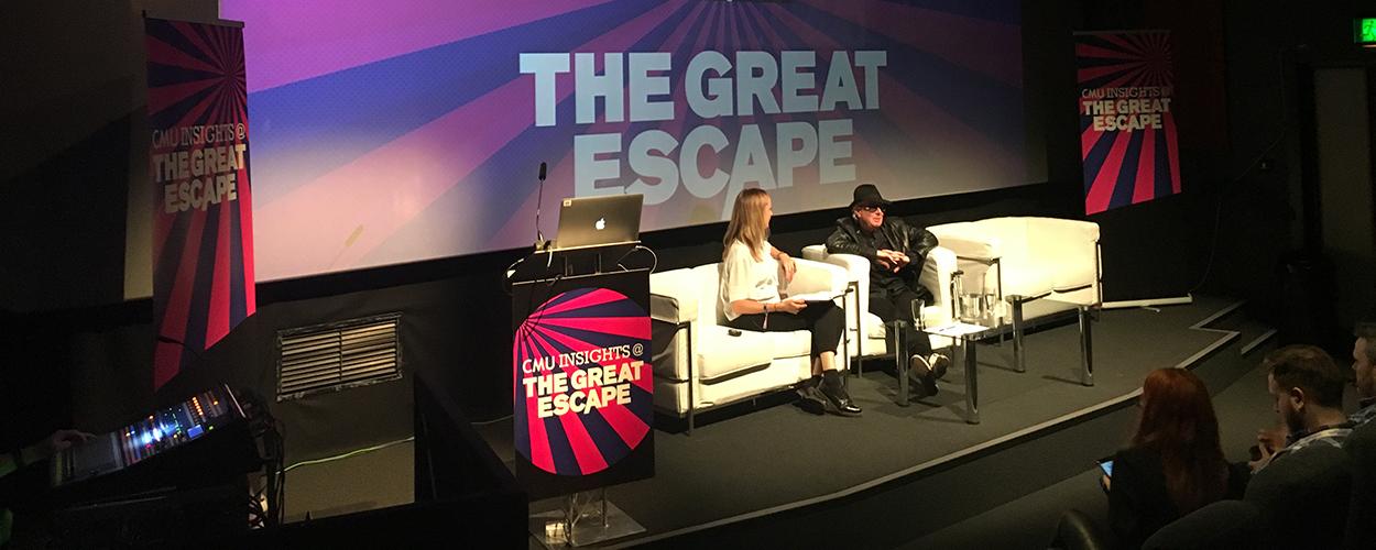 Francine Gorman & Andy Corrigan at The Great Escape 2017