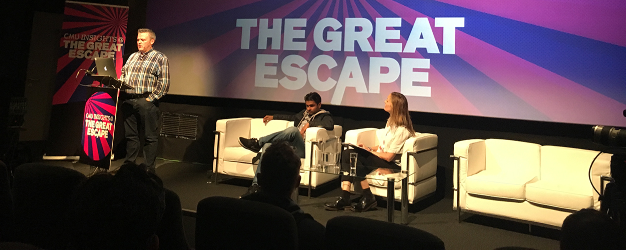 Chris Tams & Bhavesh Patel - The Great Escape 2017