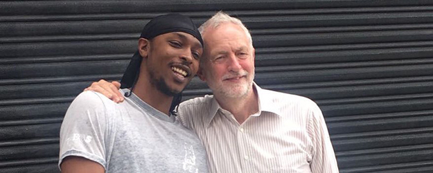 JME & Jeremy Corbyn