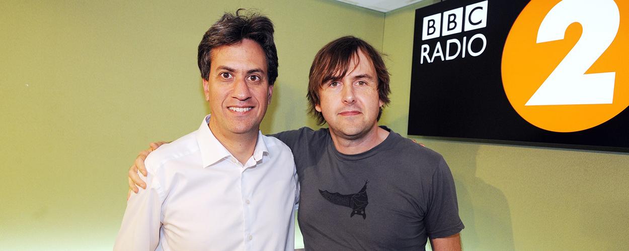 Ed Miliband & Barney Greenway