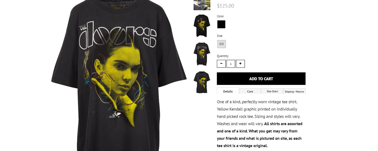 408a5861 Kylie and Kendal Jenner pull t-shirt range after legal threats from ...