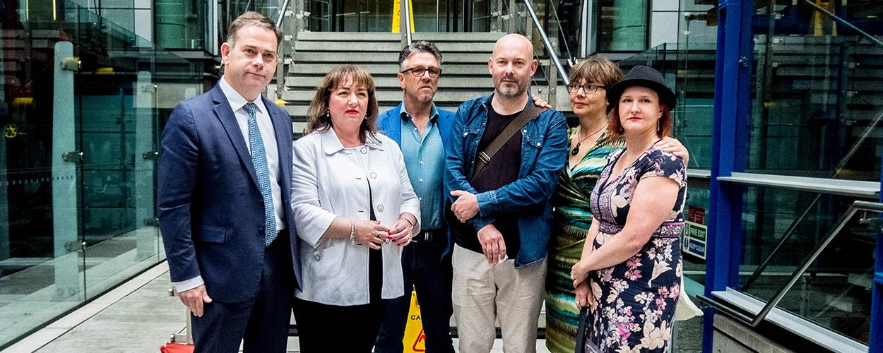 Nigel Adams, Sharon Hodgson, Stuart Galbraith, Adam Webb, Claire Turnham, Annabella Coldrick