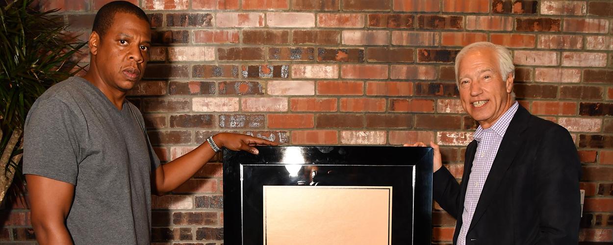 Jay-Z & RIAA's Cary Sherman
