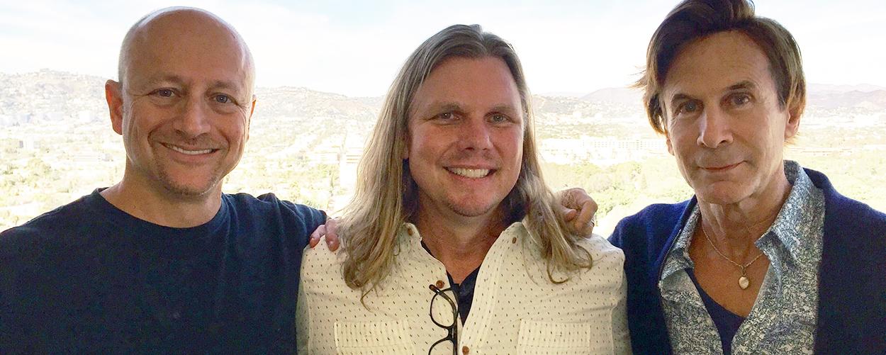 Yoav Goren, co-founder, Immediate Music; Mitch Lijewski, BMGPM US Managing Director and International SVP; Jeffrey Fayman, co-founder, Immediate Music