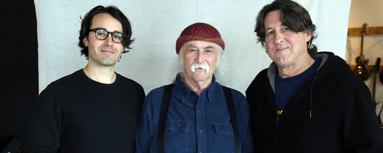 A.J. Eaton, David Crosby, Cameron Crowe