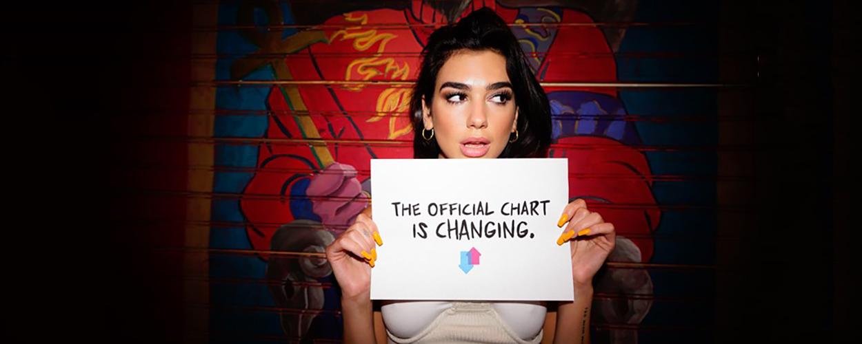 Dua Lipa / Official Charts Company