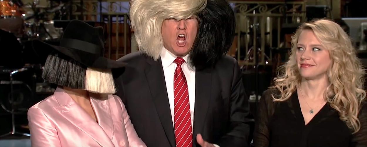 Sia, Donald Trump, Kate McKinnon