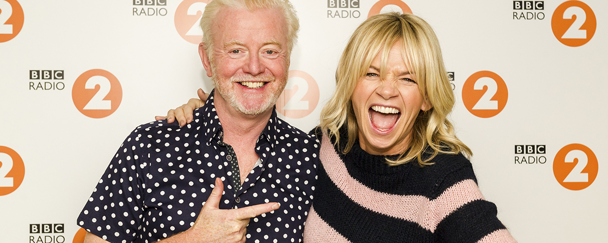 Chris Evans & Zoe Ball