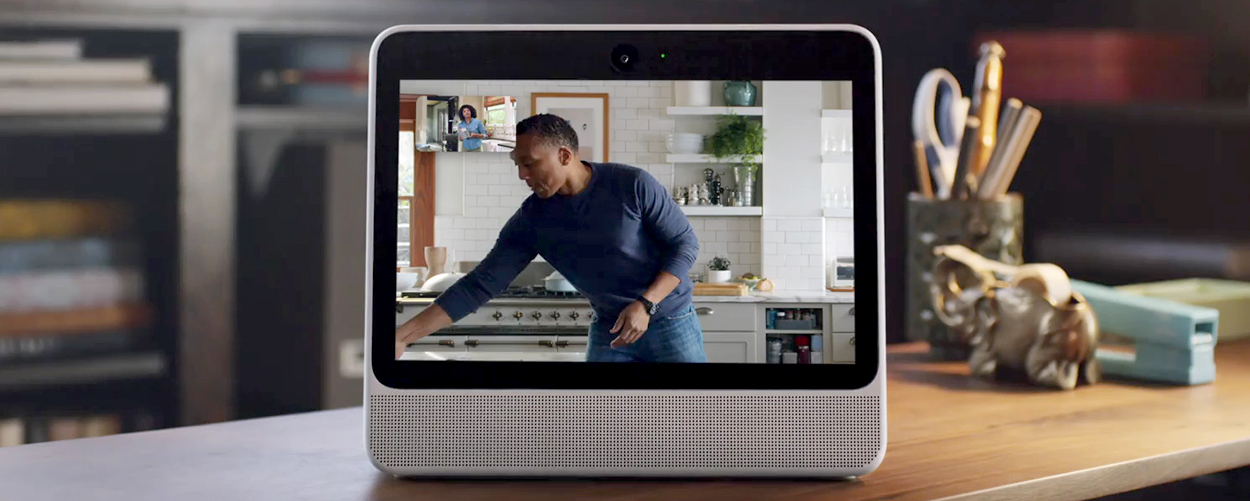 Facebook unveils its Portal, with Spotify, Pandora and iHeart