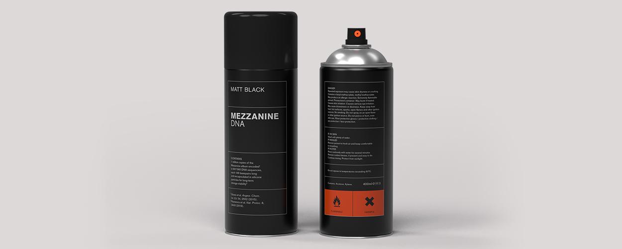 Massive Attack Spray Paint