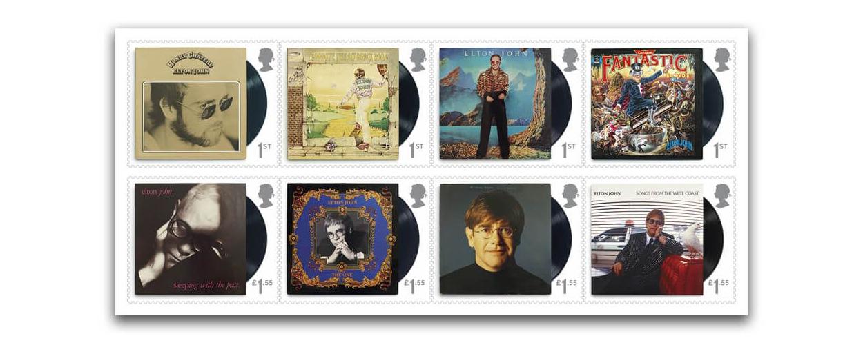 Resultado de imagen de elton john stamps