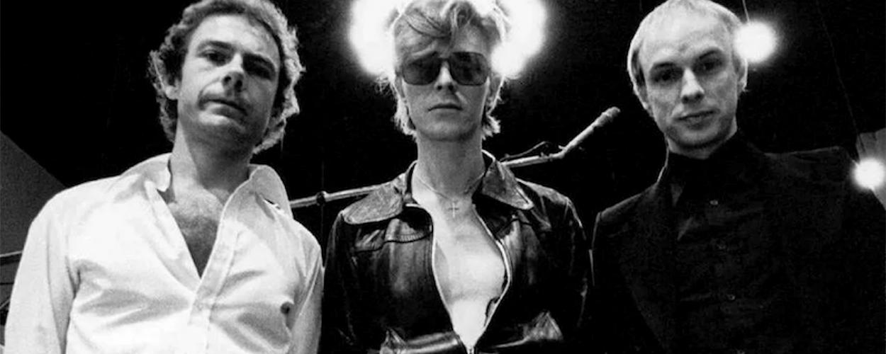 Robert Fripp, David Bowie, Tony Visconti