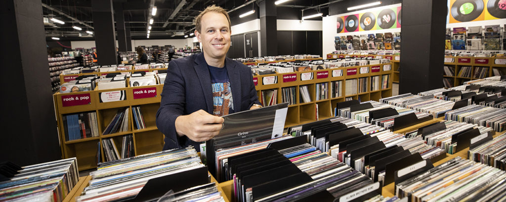 Doug Putman and HMV Vault
