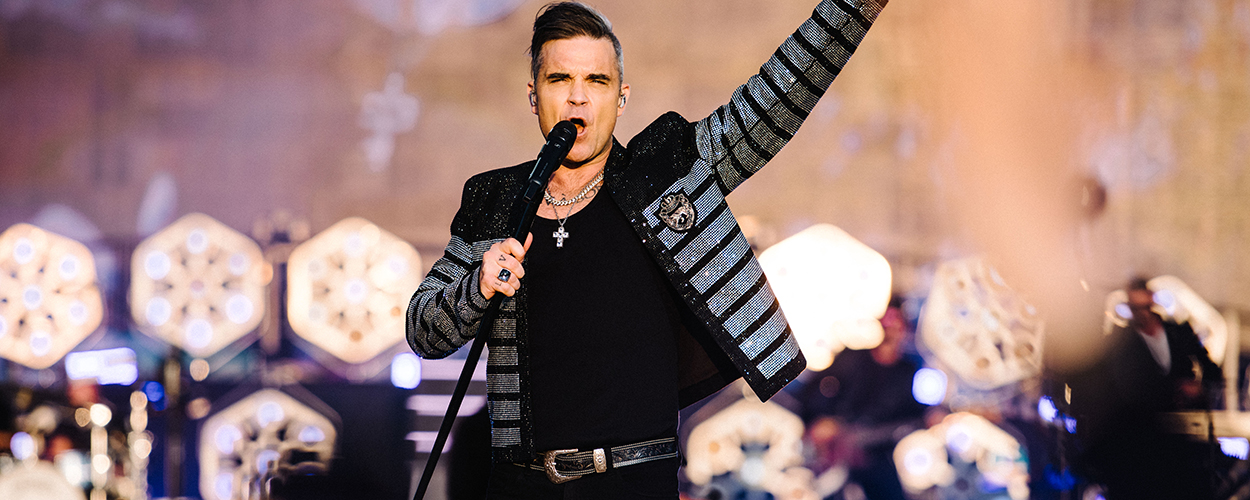 Robbie Williams at British Summer Time