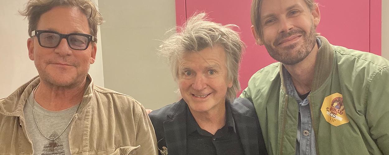 Carl Stubner, Neil Finn, Heath Johns