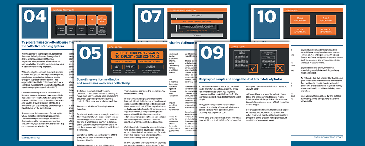CMU Trends PDFs