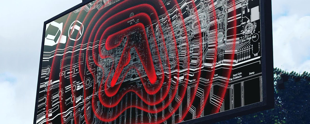 Aphex Twin billboard