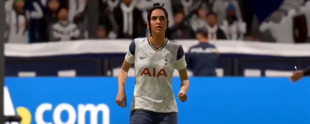 Dua Lipa in FIFA 21