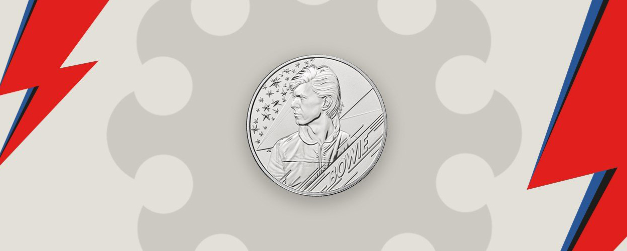 David Bowie £5 coin