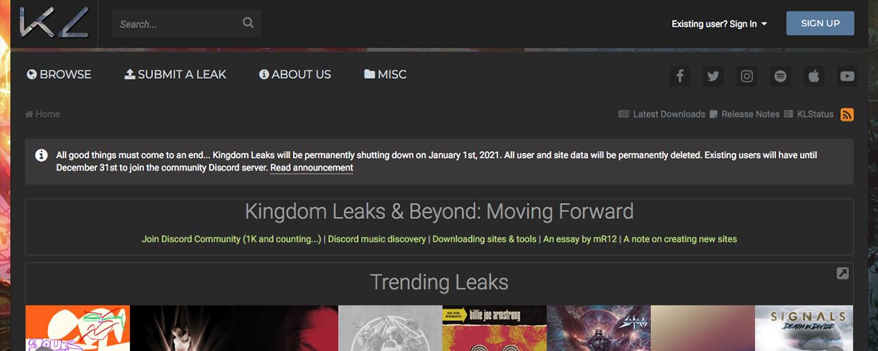 Kingdom Leaks
