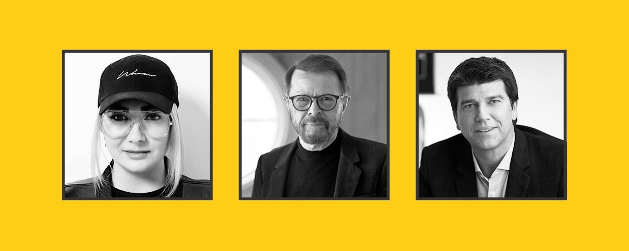 TGE Friday In Conversations: Nadia Khan, Bjorn Ulvaeus, Ole Obermann