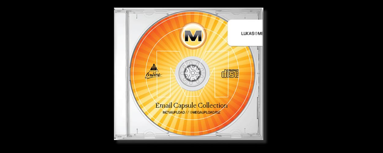 MSCHF MegaUpload email CD