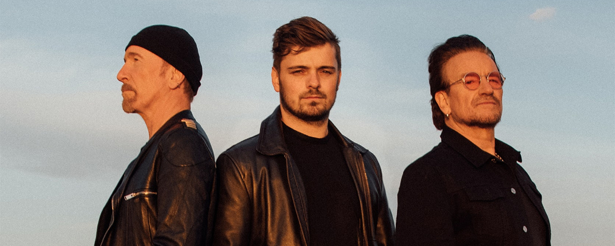 The Edge, Martin Garrix, Bono