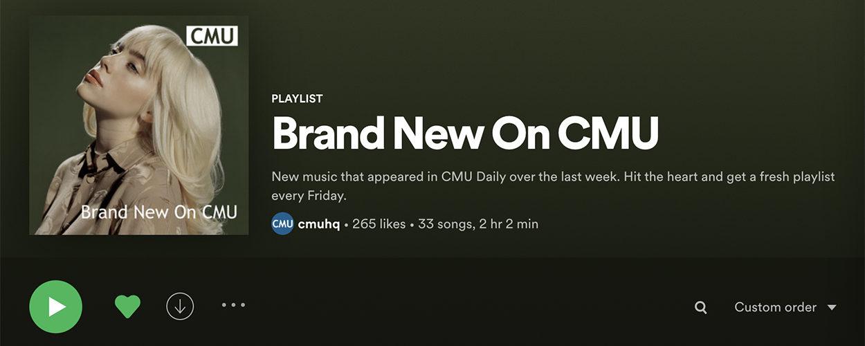 Brand New On CMU