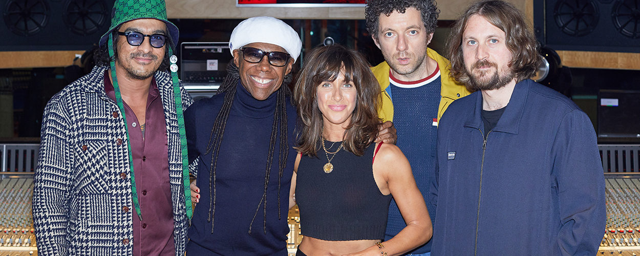 Zutons recording new album with Nile Rodgers at Abbey Road